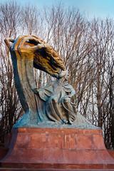 Frederic Chopin statue