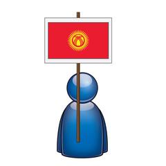 Pancarta Kirguistan