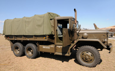 Wall Mural - Army truck