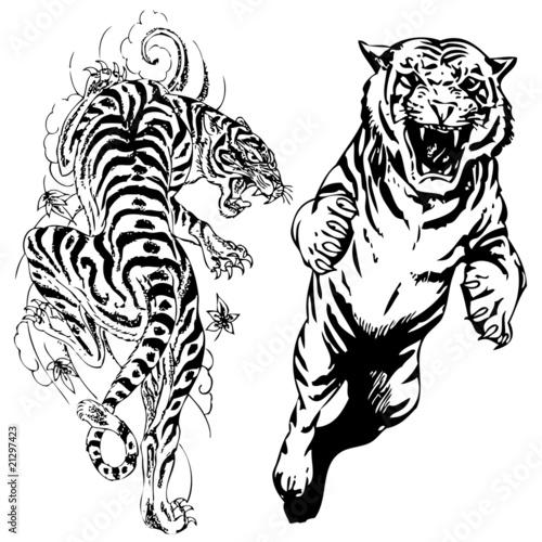 The Crown Illustration Japanese Tattoo Design