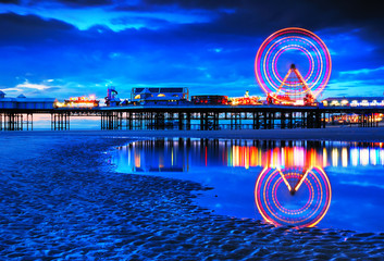 Blackpool seaside resort