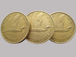 coins kiwi dollars