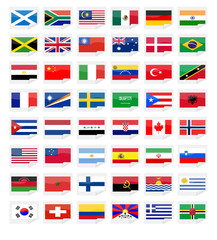 sticker flags