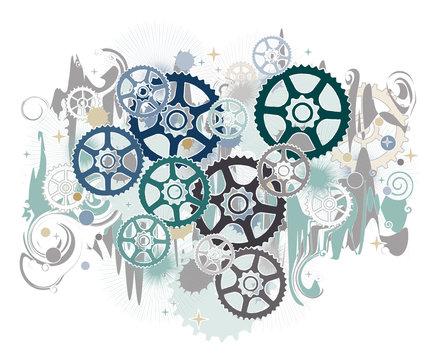 Gears, mechanical world