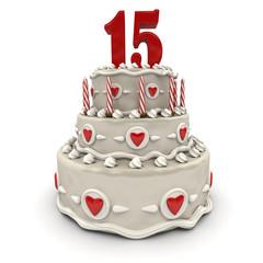 Fifteenth anniversary