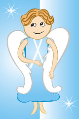 Angel Baby Boy