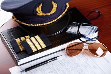 Professional airline pilot equipment