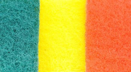 multicolored wisp of bast