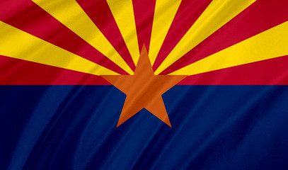 Aluminium Prints Arizona arizona flag
