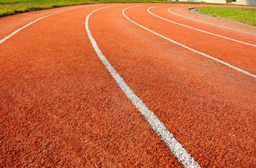 Running tracks in a school