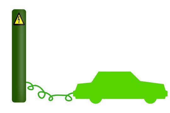 coche electrico ecologico
