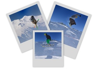 polaroid sports d'hiver extremes