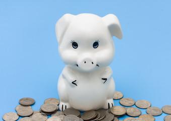 Saving your change