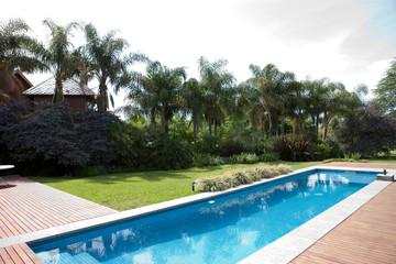 Nice swiming pool near the house