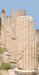 Ruins in Ephesus, Asia Minor, Turkey