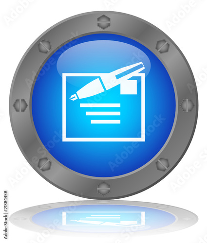 MAIL Web Button (Contact Us Details e-mail Write New Send Vector