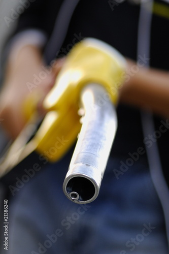 Pistolet essence vide photo libre de droits sur la - Pistolet a essence ...