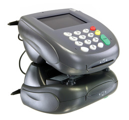Card reader, color screen with youe message here!