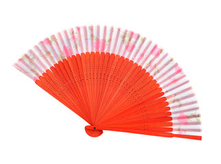 wooden asian fan