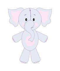 Vector fun elephant