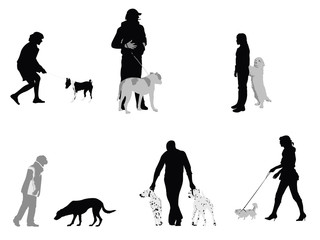 people and their dogs collection