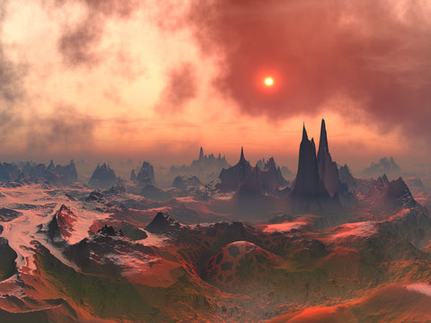 Long Forgotten Alien World