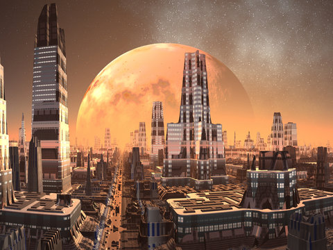 Cresta Towers City of the Future