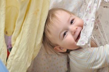 bébé et blanchisserie