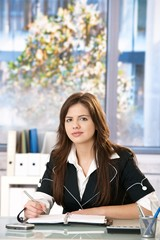 Office portrait of young woman