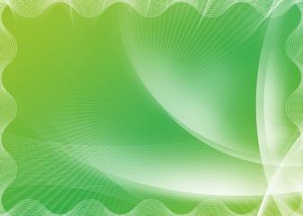 Blank green certificate