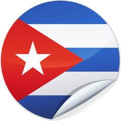 Sticker de Cuba (détouré)