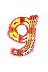 アルファベット小文字g