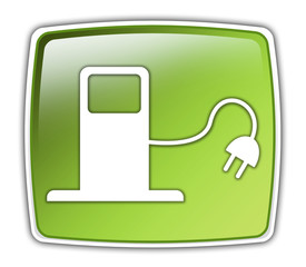 "Glossy Button ""Alternative Energy / Fuel"""