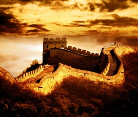 Keuken foto achterwand China Great wall of Badaling,Beijing,China.