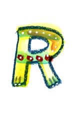 アルファベット大文字R