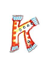 アルファベット大文字K