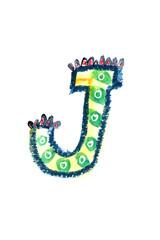 アルファベット大文字J