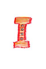 アルファベット大文字I