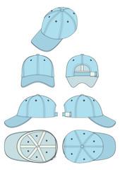 vector template сorporate cap