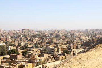 the skyline of Cairo Egypt