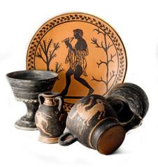 Fototapeta Etruscan terracotta obraz