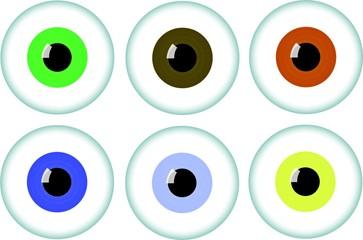 Augen sortiment