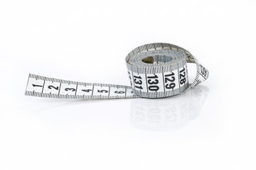 Measuring Tape Isolated On White..