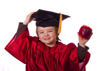 Child with education