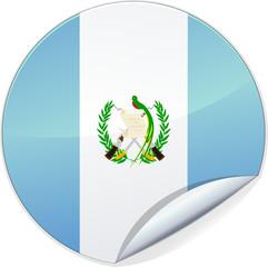 Sticker du Guatemala (détouré)