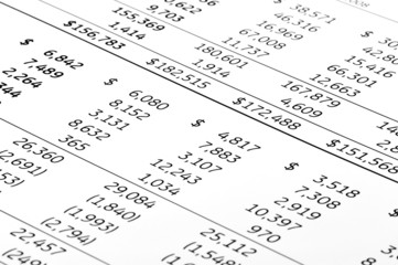Finance accounts
