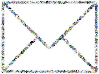 courrier d'images