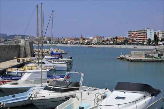 Port du Cros à Cagnes sur mer en France