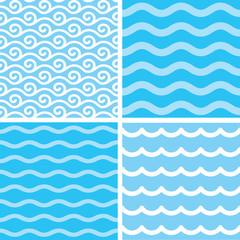 Seamless wave patterns