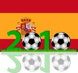 Fussball 2010 Spanien
